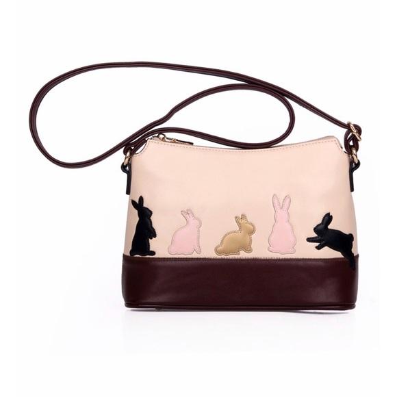 Handbags - Cat and Bunny Shoulder Bag